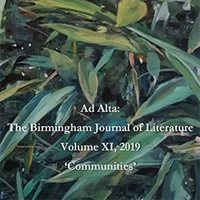 Postgraduates sought for Ad Alta: The Birmingham Journal of Literature