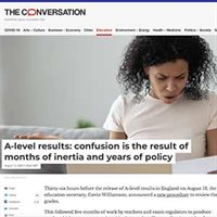 A-level results: confusion is the result of months of inertia and years of policy