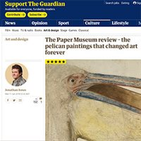 The pelican paintings that changed art forever