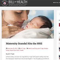 Maternity scandal hits the NHS