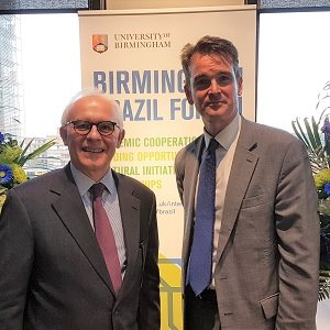 Ambassador visits Birmingham to mark Brazil research initiative