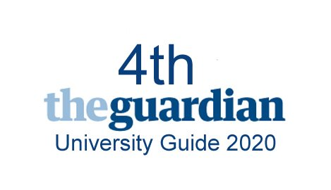 4th Guardian University ranking 2020