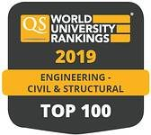 Civil Engineering at Birmingham top 100 world-wide QS Ranking