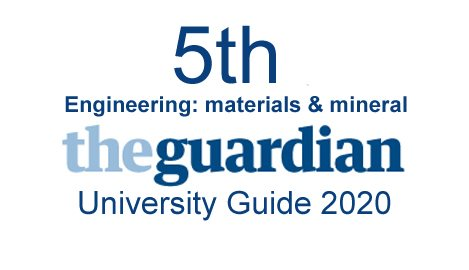 Top 5 Guardian University ranking 2020