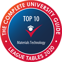 Materials Top 10 Complete University Guide