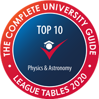 Physics and Astronomy Top 10 Complete University Guide