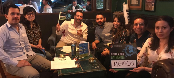 Group of Birmingham alumni from Mexico