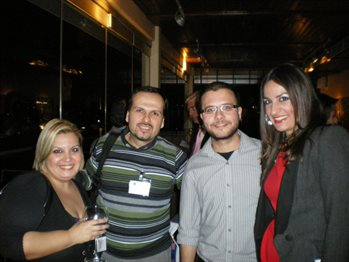 Four alumni from Greece