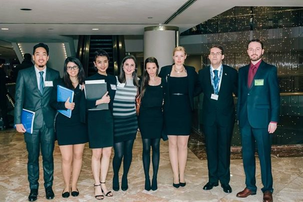 HNMUN Conference 2students and Adam