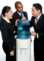 Talking around the water cooler