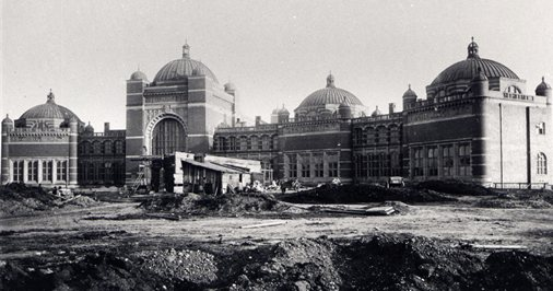 Chancellors Court under construction