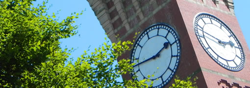 Clock face of Old Joe