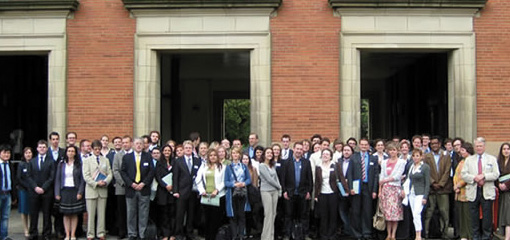 Photo of attendees at the Next 50 Years conference at the Institute of European Law