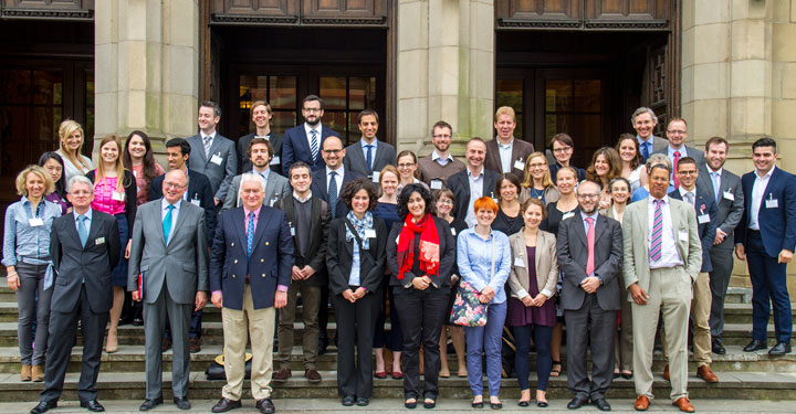 Photo of participants at the IEL 2014 conference on Reforming the EU