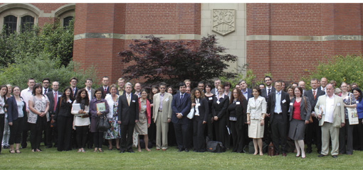 Photo of Attendees at the IEL's After Lisbon conference, 2010