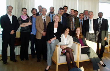 Photo of attendees at the Stockholm workshop