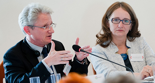 Professor Martin Trybus at the Anti-Corruption Conference in Brno in the Czech Republic