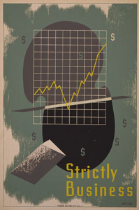 WPA poster - Strictly Business
