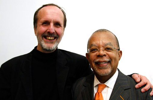 Photograph of Dick Ellis and Skip Gates