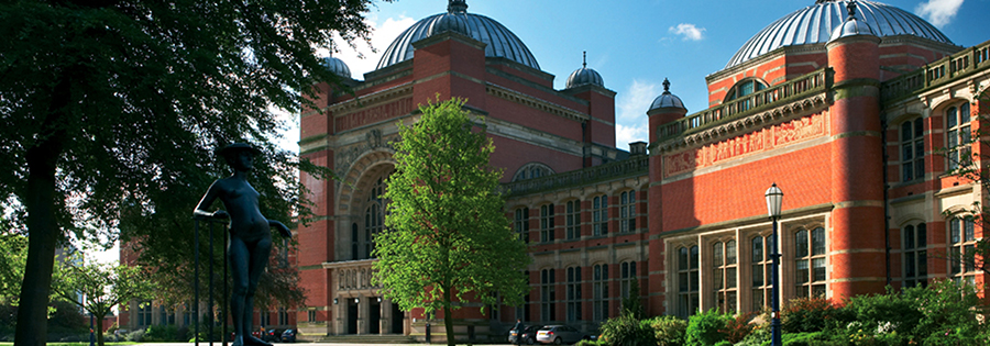 A photo of Chancellors court at the University of Birmingham