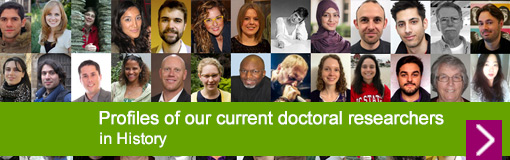 Profiles of our current History doctoral researchers