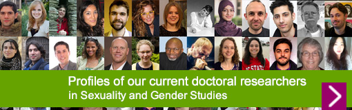 Profiles of our current Sexuality and Gender Studies doctoral researchers