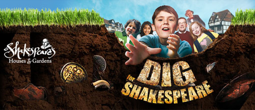 Dig for Shakespeare logo