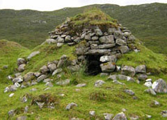 Photograph of a stone dwelling
