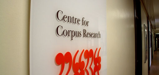 Centre for Corpus Research The purpose of the Centre for Corpus Research is to further the use of corpus analysis in research, teaching and learning. The Centre provides resources, facilities, and technical and scientific advice to members of staff, students, and visitors on a vari