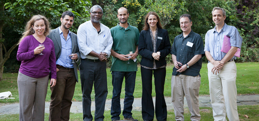 UoB staff and colleagues from the Chicago area- Emily Osborne (Chicago), Max Bolt (DASA), Reginald Cline-Cole (DASA), Corey Ross (Head of SHAC), Benedetta Rossi (DASA), Jonathon Glassman (Northwestern); Jim Brennan (UIUC)