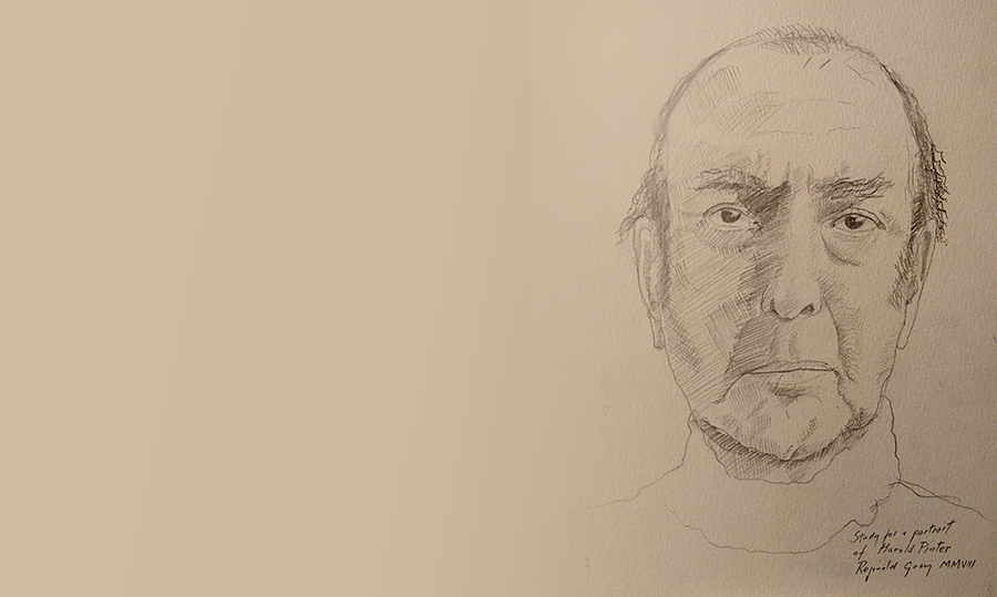 Study of Pinter by Reginald Gray, 2007