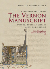 Front cover of The Vernon Manuscript DVD