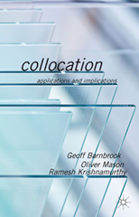 Collocations: Applications and implications