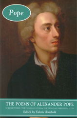 The poems of Alexander pope book cover