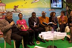 Paris Book Fair roundtable
