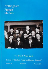 Front cover of Nottingham French Studies