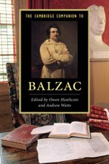 The Cambridge Companion to Balzac cover