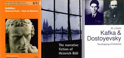 Front-cover images of books recently published within the department