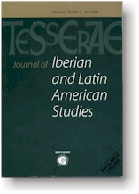 Photo of front cover of Iberian and Latin American Studies