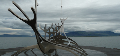 The Sun Voyager, Iceland