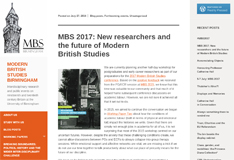Modern British Studies blog