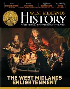 Magazine cover of History West Midlands