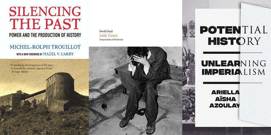 Book covers for Silencing the Past, Irish Stories and Unlearning Imperialism