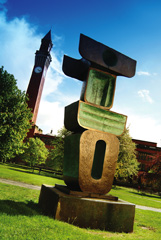 Photograph of a Barbara Hepworth sculpture