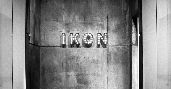 Photograph of the entrance to Ikon