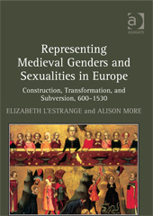 Book cover for Representing Medieval Genders and Sexualities in Europe