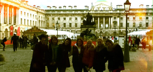 History of Art students at the Courtauld Gallery