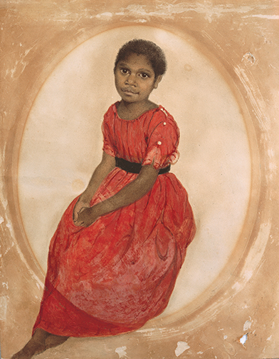 8.1-thomas-bock-mathinna-1842-watercolour-collection-tasmanian-museum-and-art-gallery-presented-by-j-h-clark-1951-ag290