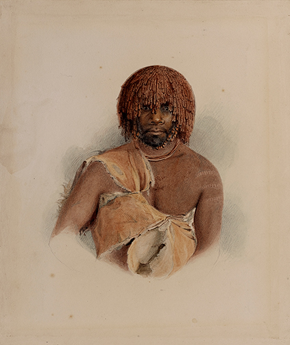 8.4-thomas-bock-woreddy-aka-woureddy-or-woorrady-gaphite-and-watercolour-1831-oc2006Drg.55,-©-The-Trustees-of-the-British-Museum