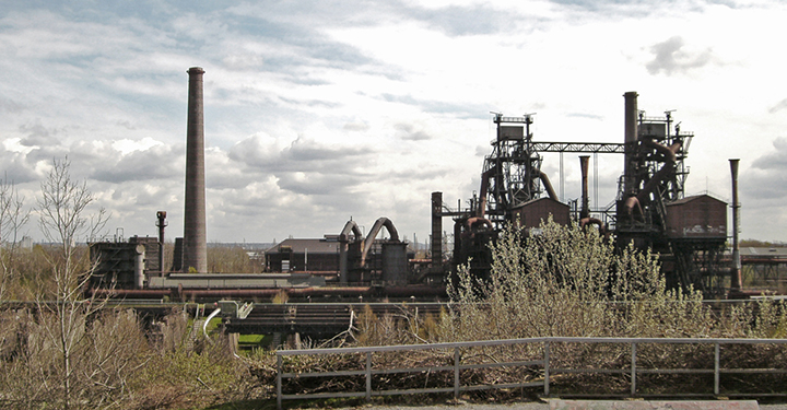 industrial archaeology ruins in germany